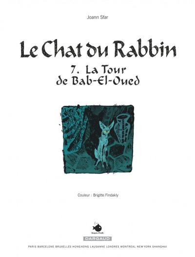 Page 2 Le chat du rabbin tome 7