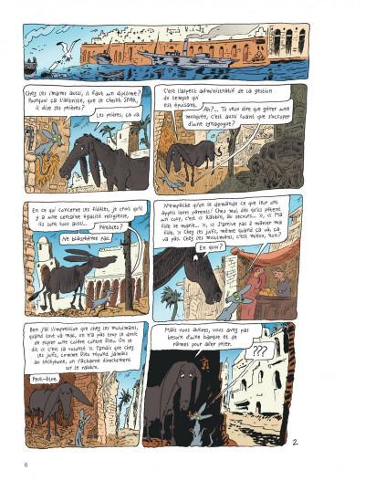 Page 5 Le chat du rabbin tome 7
