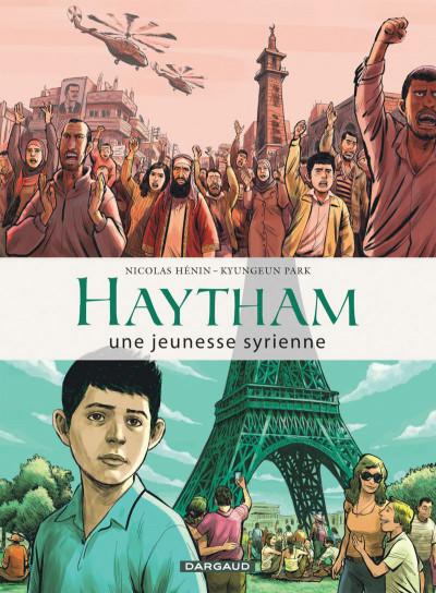 Couverture Haytham - une jeunesse syrienne