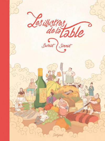 Couverture Les illustres de la table