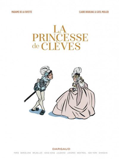Page 2 La princesse de Clèves + ex-libris offert
