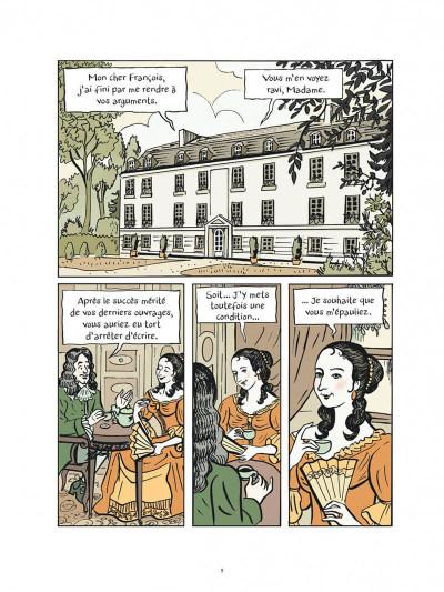 Page 9 La princesse de Clèves + ex-libris offert