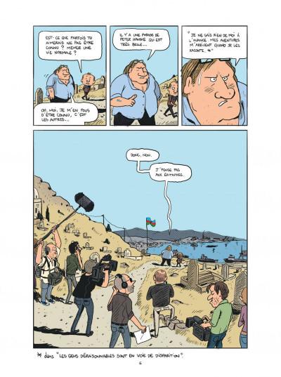 Page 6 Gérard, cinq années dans les pattes de Depardieu