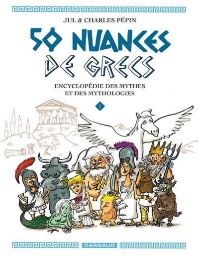 Couverture 50 nuances de grecs tome 1
