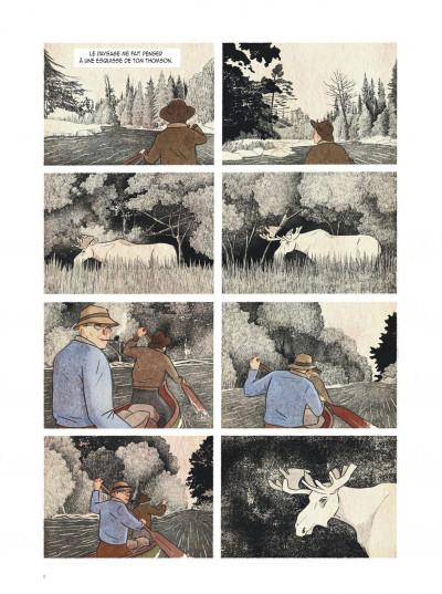 Page 6 Tom Thomson, esquisses du printemps
