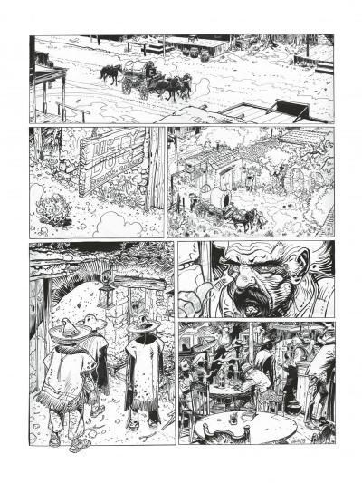 Page 5 Blueberry - édition noir et blanc tome 26
