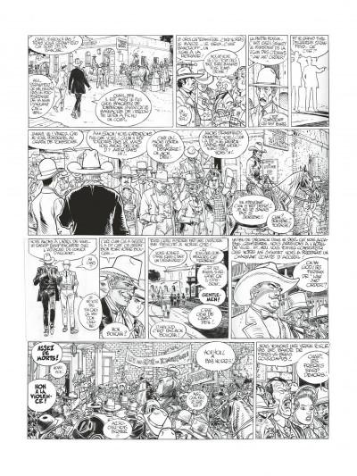 Page 8 Blueberry - édition noir et blanc tome 26