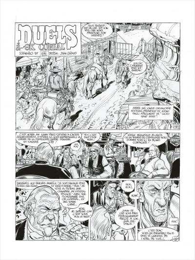 Page 3 Blueberry - édition noir et blanc tome 27