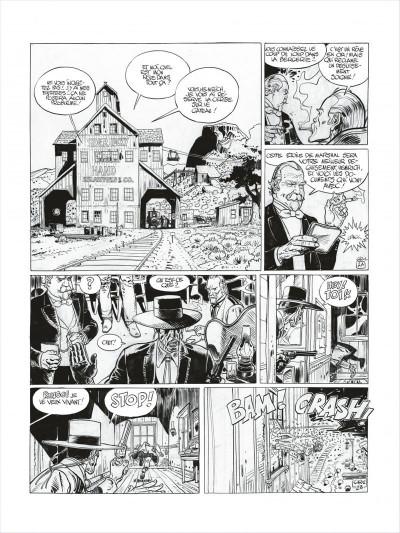 Page 4 Blueberry - édition noir et blanc tome 27