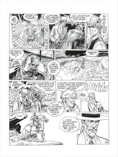 Page 5 Blueberry - édition noir et blanc tome 27