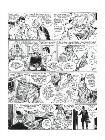 Page 7 Blueberry - édition noir et blanc tome 27