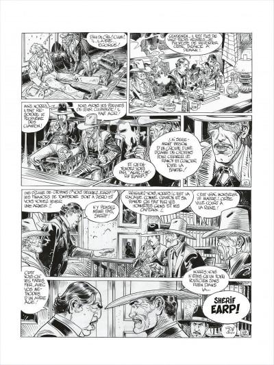 Page 8 Blueberry - édition noir et blanc tome 27