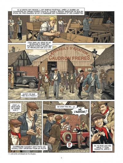 Page 5 L'Aviateur tome 2