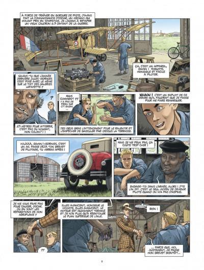Page 8 L'Aviateur tome 2