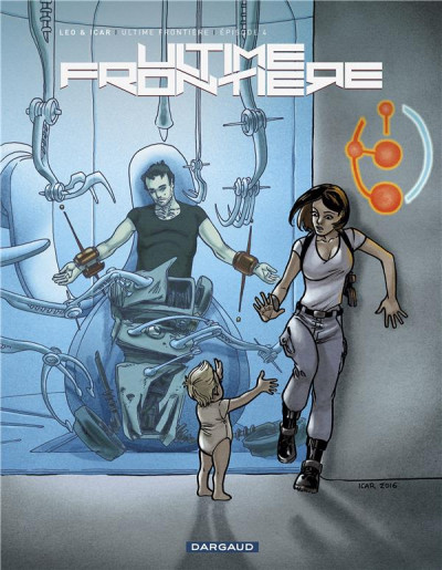 Couverture Ultime frontière tome 4