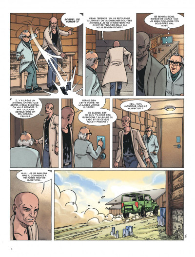 Page 4 Ultime frontière tome 4