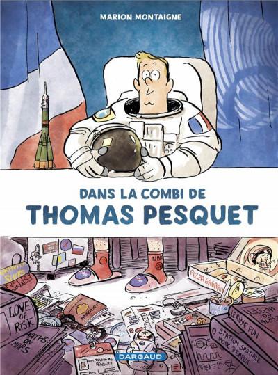 Couverture Dans la combi Thomas Pesquet