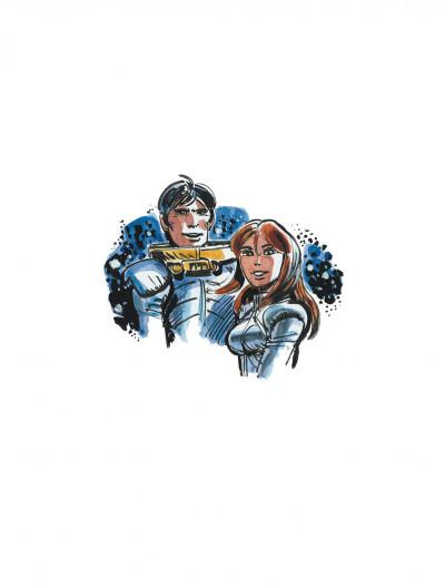 Page 6 Les habitants du ciel - Atlas cosmique de Valérian et Laureline
