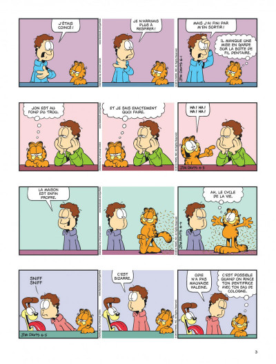 Page 3 Garfield tome 64