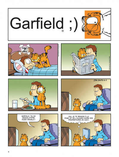Page 4 Garfield tome 64