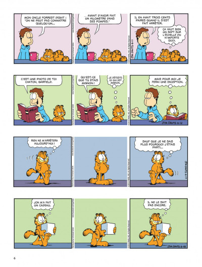 Page 6 Garfield tome 64