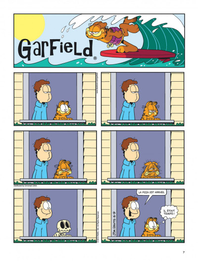 Page 7 Garfield tome 64