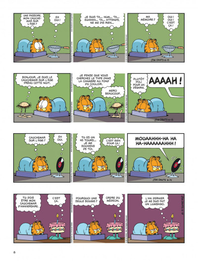 Page 8 Garfield tome 64