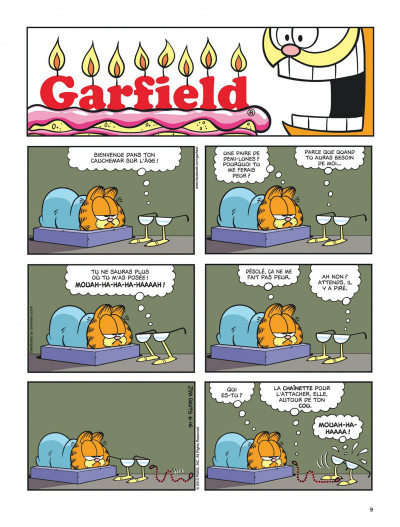 Page 9 Garfield tome 64