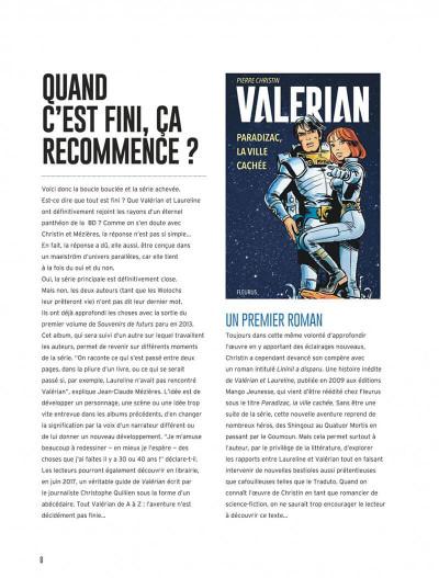 Page 8 Valérian - intégrale tome 7