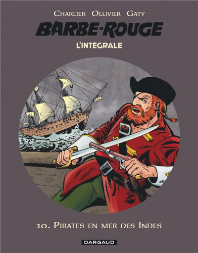 Couverture Barbe rouge - intégrale tome 10