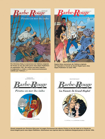 Page 8 Barbe rouge - intégrale tome 10