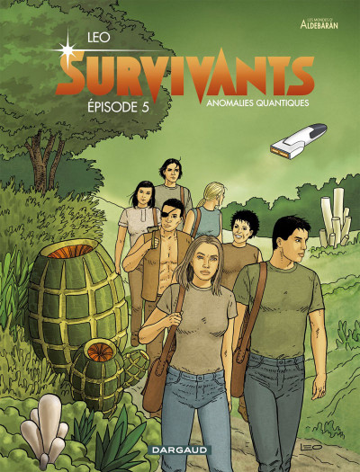 Couverture Survivants tome 5 + ex-libris offert