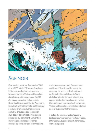 Page 4 Valérian - Le guide des 1000 planètes