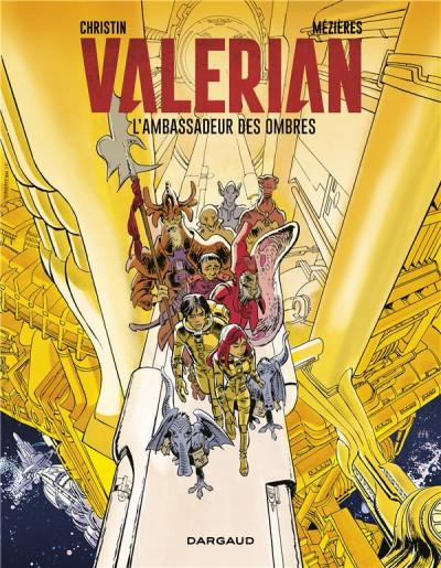 Couverture Valérian - édition 2017 tome 6 - L'ambassadeur des ombres