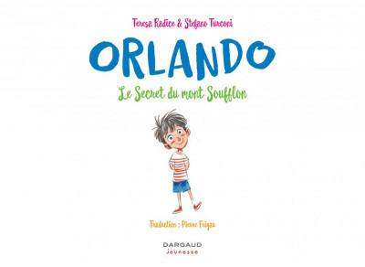 Page 3 Orlando tome 1 - Le secret du Mont Soufflon