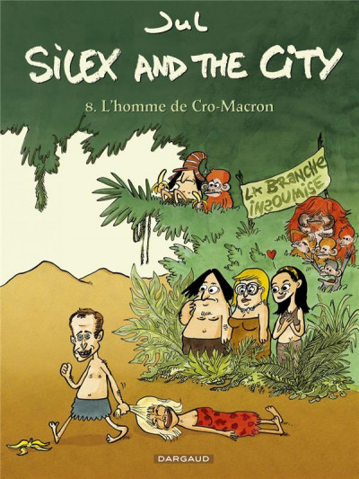 Couverture Silex and the city tome 8