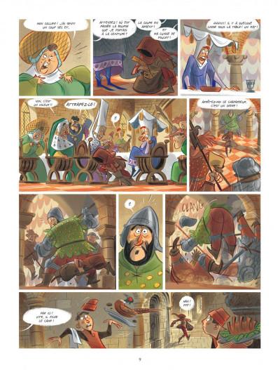 Page 9 Tosca des Bois tome 1