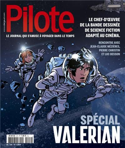 Couverture Pilote - hors série spécial Valérian
