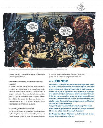 Page 9 Pilote - hors série spécial Valérian