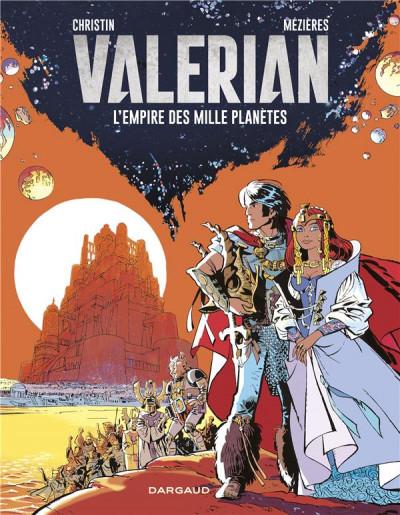 Couverture Valérian - édition 2017 tome 2 - L'empire des Mille Planètes