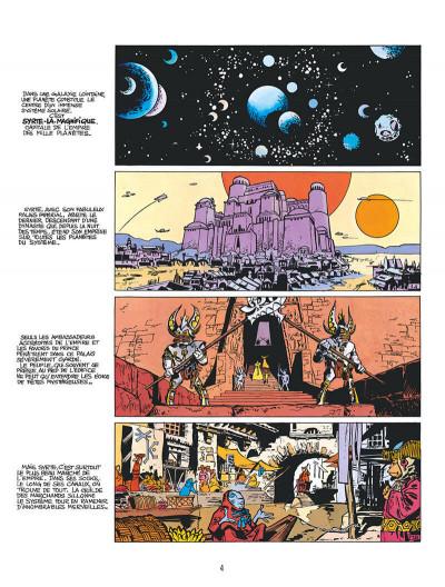 Page 3 Valérian - édition 2017 tome 2 - L'empire des Mille Planètes