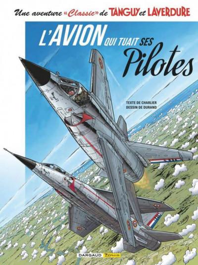 Couverture Tanguy et Laverdure (classic) tome 2 - l'avion qui tuait ses pilotes