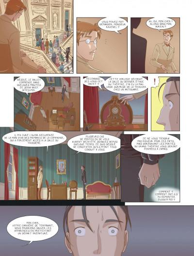 Page 4 La belle endormie tome 1