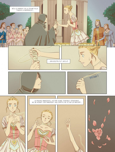 Page 8 La belle endormie tome 1