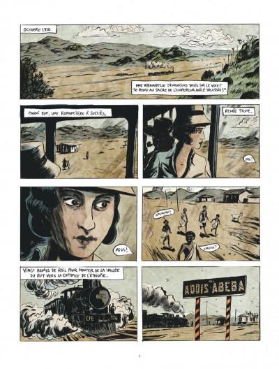 Page 3 Renée Stone tome 1 - Meurtre en abyssinie