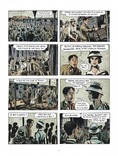 Page 4 Renée Stone tome 1 - Meurtre en abyssinie