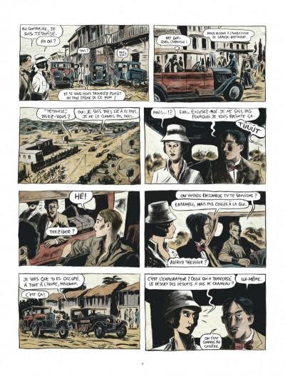 Page 5 Renée Stone tome 1 - Meurtre en abyssinie