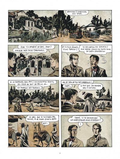 Page 6 Renée Stone tome 1 - Meurtre en abyssinie