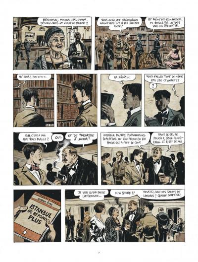Page 7 Renée Stone tome 1 - Meurtre en abyssinie