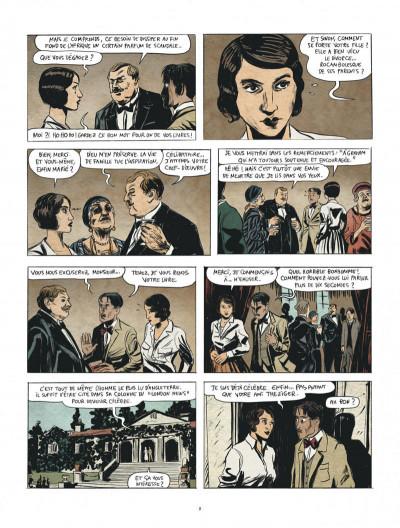 Page 8 Renée Stone tome 1 - Meurtre en abyssinie